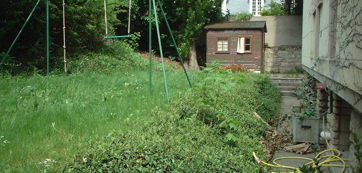 Jardin terrasse am nag es avant apr s vert ambiance for Terrasse jardin anglais