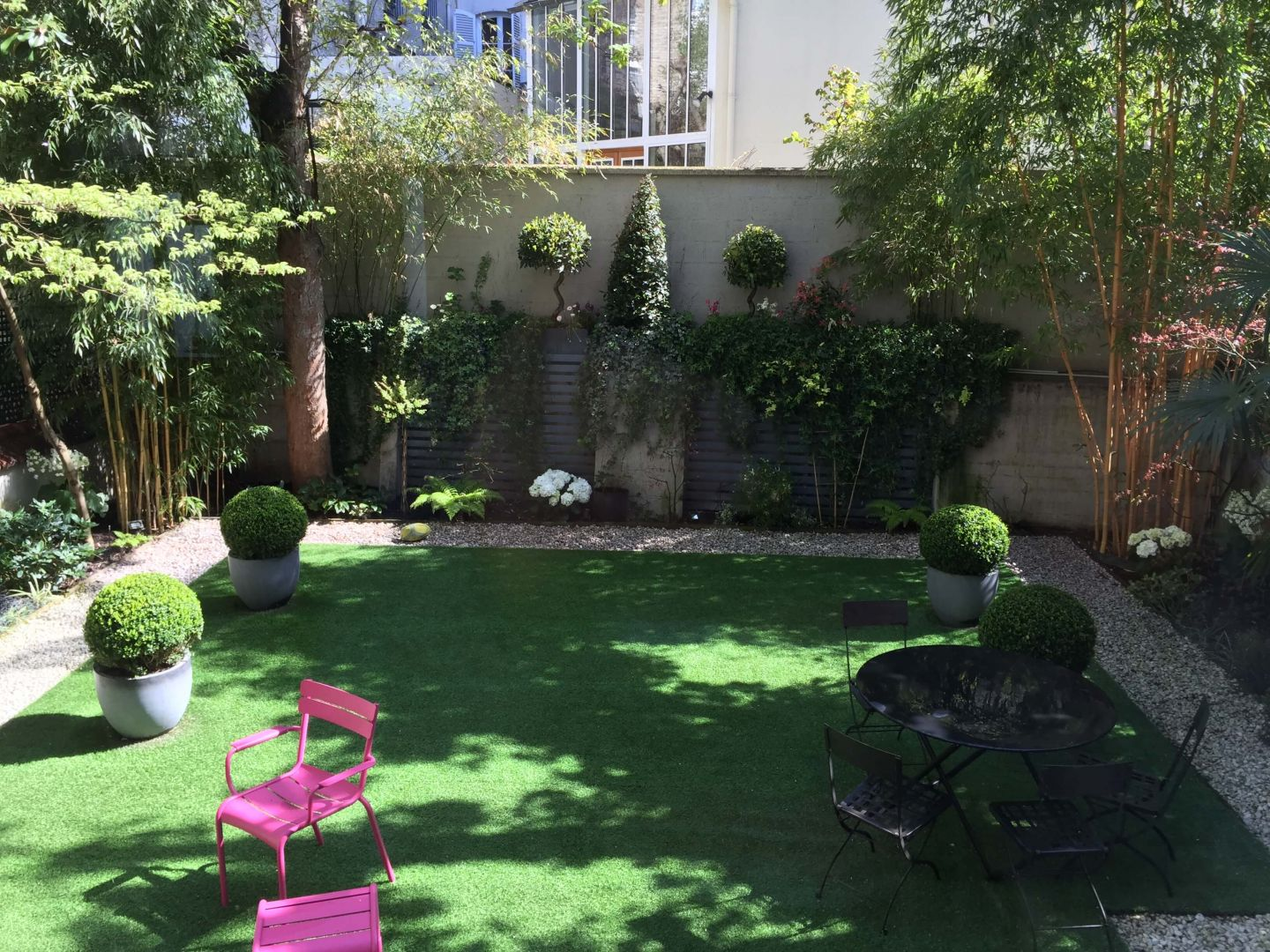 Jardin contemporain for Creer un jardin contemporain