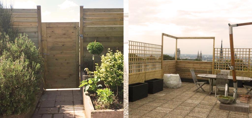Aménagement de terrasse par Vert Ambiance Lyon