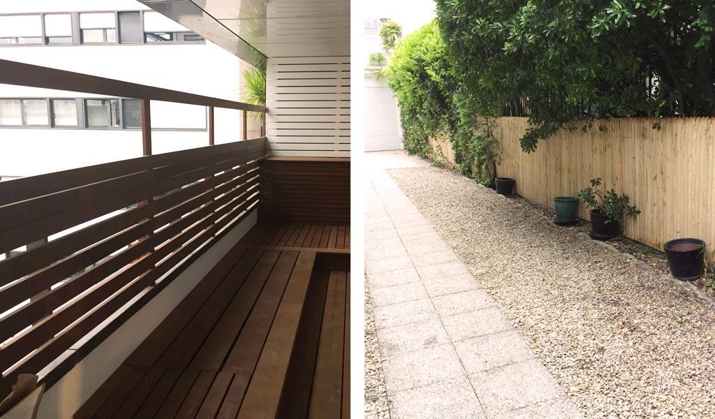 Jardin aménagé par Vert Ambiance, jardinier paysagiste